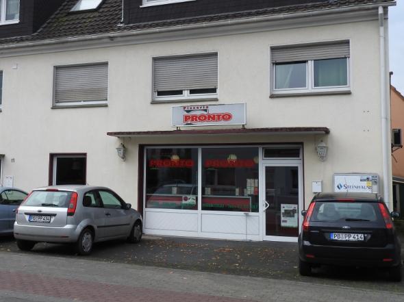 Aussenansicht Pizzeria Pronto in Lippstadt-Lipperode