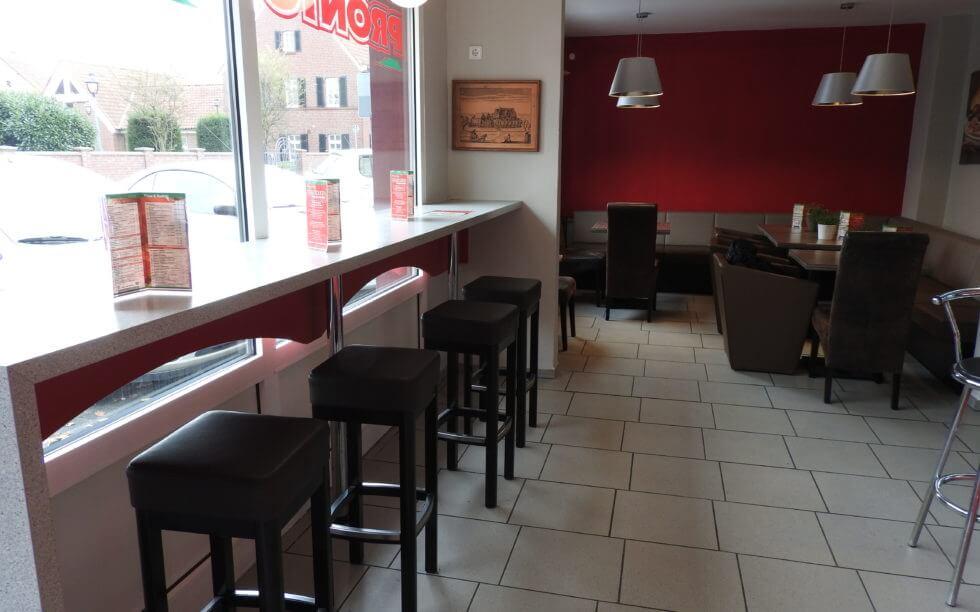 Genießen Sie Pizza in unserem Restaurant, holen Sie Ihre Pizza ab oder wir liefern!